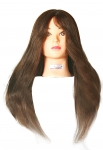 Ritzkart 100% 24icnh Original Soft Hair Practice / Cutting / Coloring /Makeup/ Dummy For Trainers