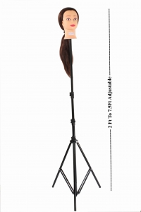 Ritzkart Hair Dummy Stand with Adjustable Height 2 ft to 7.5 Ft Heavy Duty