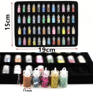 48 pc Nail Art Glitter Kit Nails Design Painting Dotting for give beautiful nail