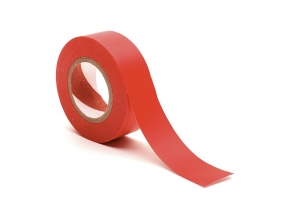 Ritzkart Double Sided Transparent Tape for Attach Hair Patch/Wig (3 m Red)