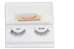 RITZKART 100%human hair eyes Lashes Extension for Natural look all model available (024)