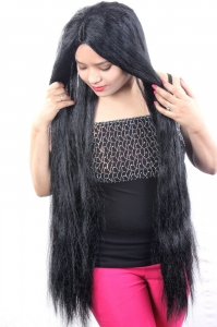 40-42 inch 250 gm Indian Normal synthetic hair wig for mannequin statue & other any kind use,(24-40 inch size available)