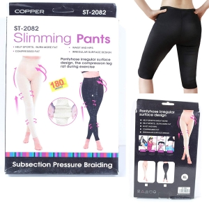 RITZKART Slimming Pants Help Sports, Burn More Fat Pantyhose Irregular Surface Design The Compression Leg Rat During Exercise Sports