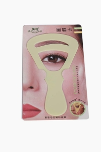 1pc Women EyeBrow shaping card Applicator Grooming Kit Reusable Makeup Shaper Beauty Tool Eyebrow Sticker For Perfect