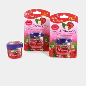 RITZKART Original Genuine Brand Strawberry Jelly Lip Balm For Soft Shiny lip by thailand, 9g
