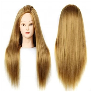 Ritzkart Silky Imported Soft Hair Dummy For Practise / Cutting / Styling For Trainers
