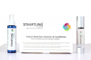 Instant WaterLess Cleanser And Conditioner , Clean & condition Your hair Anywhere Anytime