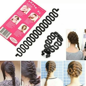 RITZKART Fashion Hair Braiding Braider Roller for Fish Bone Braiding French Braid style