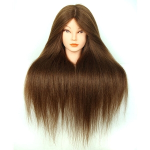 Ritzkart Professional 31 Inch Long And 100% Remi Human Hair Dummy For All Purpose