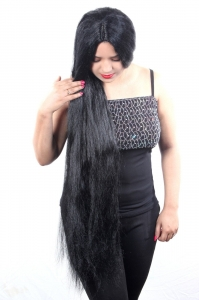 34-36 inch 190 gm Indian Normal synthetic hair wig for mannequin statue & other any kind use,(24-40 inch size available)