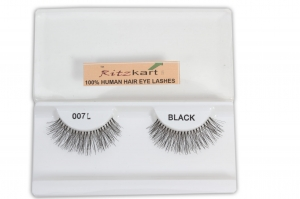 RITZKART 100%human hair eyes Lashes Extension for Natural look all model available (007L)