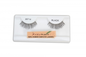 RITZKART 100%human hair eyes Lashes Extension for Natural look all model available (007M)
