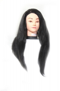 Ritzkart Soft 24 inch Long Black Hair / Styling / Cutting dummy for For Beginners