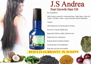 Ritzkart Js Andrea Fast Regrowth Natural Ingredient Hair Oil