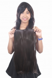 Ritzkart 22 Inch Women Half hi quality Synthetic hair extension (ExDB3635)