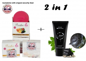 Combo Offer Bumebime Soap For Body Whitening + Miracle Face Mask