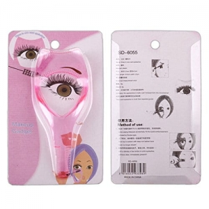 1pc Women Mascara Applicator Comb Eyelash Card Portable Eye Lashes makeup gadget