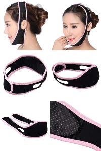 RITZKART Women Face Massager Anti Wrinkle Half Face belt for Reduce Double Chin & Cheek Slimming Mask Lift V Face Line & Face Mask for Health Belt Strap