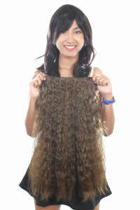 Ritzkart 22 Inch Women Half hi quality Synthetic hair extension (ExDBFluffy8128)
